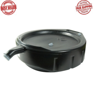 15 Qt Oil Drain Pan Oil Change Tools Accessories Back Handle And Spout New