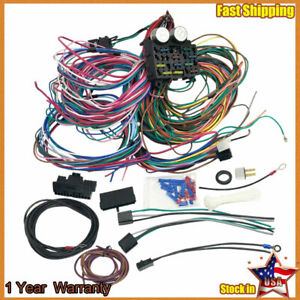 For 1955 1959 Chevy Pickup Truck 12 Circuit Wiring Harness Wire Kit Chevrolet