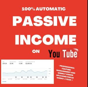 Business For Sale Copy My 12 000 Per Year Youtube 100 Automated Business