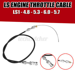 36 Ls Engine Throttle Cable Ls1 4 8 5 3 5 7 6 0 For Chevrolet Stainles