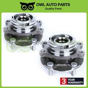513296 2 Front Wheel Bearing Hub Assembly Fits Nissan Quest Maxima Murano