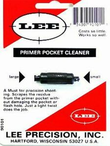 Lee Primer Pocket Cleaner Made from Steel to Last New In Package #90101 $18.60