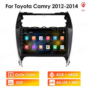 10 1 Android 10 1 Car Stereo Radio Gps For Toyota Camry 2012 2014 4 64gb Bt5 0