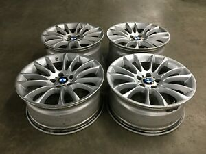 11 12 13 14 15 Bmw 740li 750li F01 Wheels Set Staggered M Sport 1166 Oem