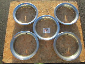 1970 S 80 S Chevy Pickup Truck K5 Blazer Rally Wheel 15 Trim Rings Beauty Rings
