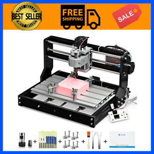 Cnc Router Kit 3 Axis Plastic Acrylic Pcb Pvc Wood Carving Milling 300x180x45