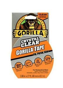 Gorilla Crystal Clear Duct Tape 1 88 X 9 Yd Clear pack Of 1 6027002