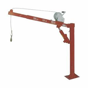 1000lb Truck Hydraulic Crane Winch Hoist Lift Cherry Picker 1 2 Ton Pickup