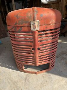 Farmall Super M Sm Tractor Original Factory Ih Front Nose Cone Grill With Emblem