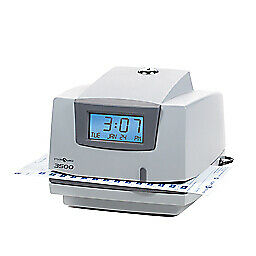 Pyramid Time Clock Multipurpose Time Clock Document Stamp Gray charcoal