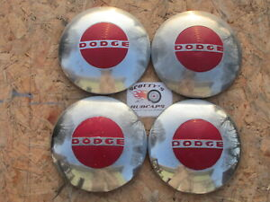 1949 1950 1951 Dodge Pickup Truck Dog Dish Hubcaps Set Of 4 rare