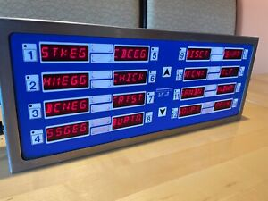 Electronic Timer Prince Castle 755 hm16wa 16 Channel Restaurant