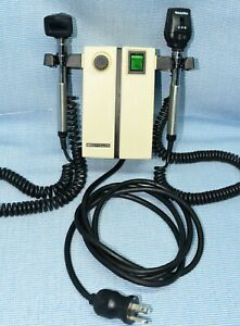 Welch Allyn Wall Diagnostic Set Ophthalmoscope Otoscope Model 74710