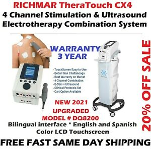 Richmar Theratouch Cx4 4 channel Ultrasound Combo Upgrade From Chattanooga