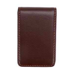 Leather Business Cards Holder Case Name Id Credit Card Organizer Book Keeper Us