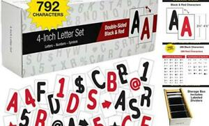 Swinging Sign Letters Includes 792 Four Inch Letters Symbols And Numbers