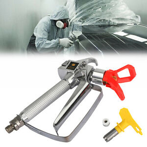 3600 Psi Airless Paint Spray Gun With 517 Tip Tip Guard For Sprayers Us