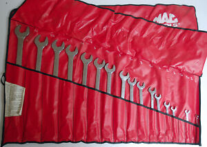 Mac 16 Piece Long Combination Wrench Set 1 4 To 1 1 4 Usa 5cl182kr