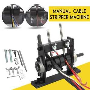 Manual Copper Wire Stripping Machine Cable Peeling Stripper Recycling W 2 Cutter