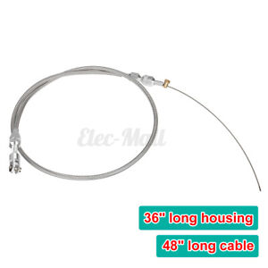36 Stainless Steel Throttle Cable Replacement For Ls Ls1 Engine 4 8 5 3 5