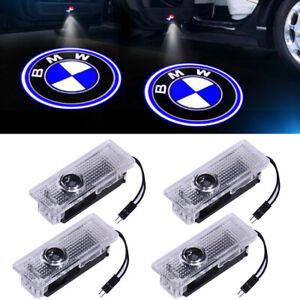 4 X Led Lights For Bmw Door Light Logo Courtesy Laser Projector Ghost Shadow