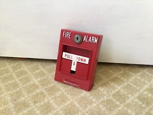 Simplex 4099 9001 Addressable Fire Alarm Pull Station