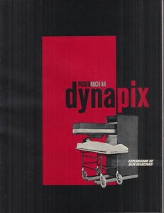 Picker Nuclear Dynapix High Velocity X ray Scanner Sales Folder In Spanish 1966