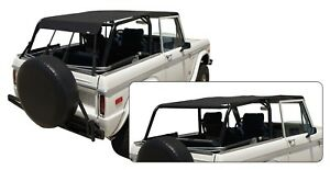 Rampage For 1966 1977 Ford Bronco California Extended Brief Black Diamond