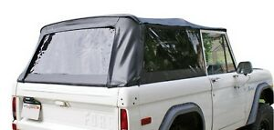 Rampage For 1966 1977 Ford Bronco Complete Top Black Diamond