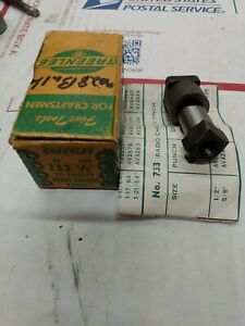 Greenlee 733 1 2 D shape Chassis Punch Set Part No 500 2459 0 Ed4u