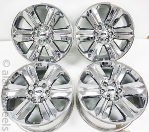 4 New Takeoffs Ford F150 20 Factory Oem Pvd Chrome Wheels Rims 04 21 10171