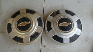 Chevy Dog Dish Hubcaps Two