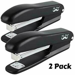 Mr Pen Stapler 2 Staplers With 200 Staples Sheet Desk Office Staplers For