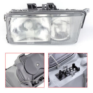 Left Driver Side Headlight For 1984 1994 Mercedes Benz W201 190e 190d Models New