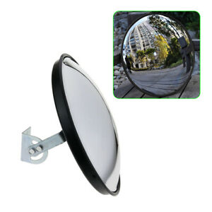 12 Traffic Security Convex Mirror Safety Pp Wide Angle Mirror Driveway Outdoor