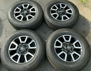 2021 Toyota Tundra Trd Factory 18 Wheels Tires Rims Oem 75157 Michelin Sequoia