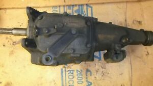 1968 Saginaw Gm Chevrolet 3 Speed Transmission Inspected Very Good