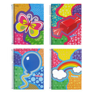 Mead Quad Fun amp Dreams Assorted Subject Spiral Notebook 1 count