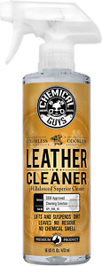 2x16oz Chemical Guys Leather Cleaner And Conditioner Set For Car Interior Care