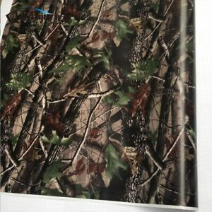 Camo Car Vinyl Wrap Film Sticker Decal Pvc Adhesive Real Tree Camouflage Truck