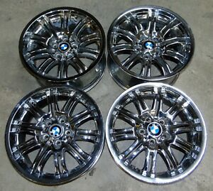 Wheels Style 67 Set 4 Double Spoke 18 8x18 9x18 Oem Bmw E46 M3 2001 2006