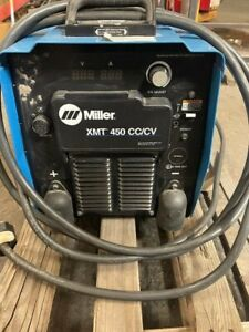 Miller 450 Cc cv Multipurpose Welding Machine 230 480 3 Phase