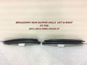 2013 2014 For Ford Focus St Rear Bumper Grille
