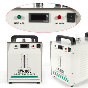 Cw 3000 Industrial Water Chiller Co2 Glass Laser Engraving Cutting Machine Usa