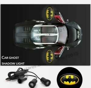 2x The Batman Logo Car Door Projector Laser Ghost Shadow Spot Light