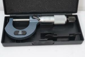 New Moore Wright England 0 25mm Outside Micrometer 0 01mm Grad Carbide