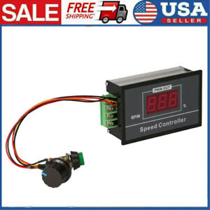 Dc6 60v 12v 24v 36v 48v 30a Pwm Motor Speed Controller Start Stop Switch Te1256