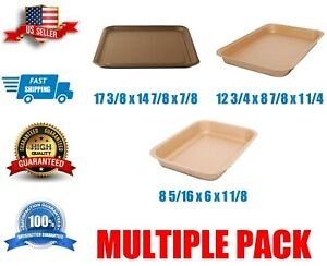 Food Tray Multiple Sizes Disposable Kraft Paper Brown Free Shipping