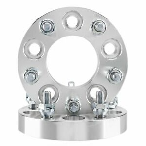 2pc 5x4 5 To 5x4 75 1 Inch Thick 5x114 3 To 5x120 12x1 5 Wheel Spacers Adapters