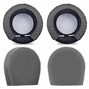 Mr you Spare Tire Cover For Trailers tire Covers 4 Packfour Layers Tire Cover